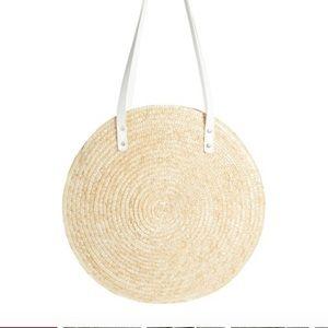 BP circle straw tote bag. Retail $49.00